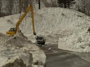 除雪作業の様子