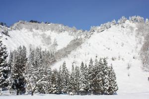 氷点下10度の景色 要害山