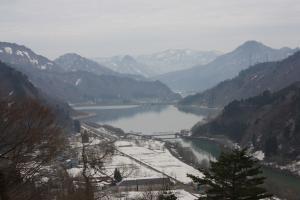 田子倉からの風景