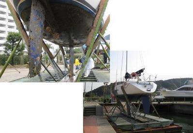 2010年3月14日ヨット上架