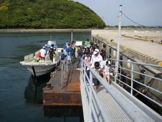 2010年5月3日成ケ島渡船場②