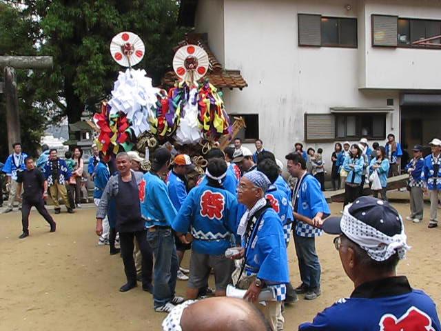 20111016 田中山神社秋祭り(鯛の迫町内会) その4