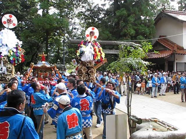 20111016 田中山神社秋祭り(鯛の迫町内会) その3
