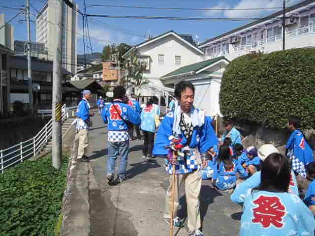 20111016 田中山神社秋祭り(鯛の迫町内会) その1