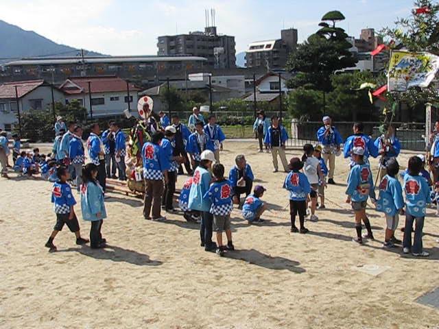 20111016 田中山神社秋祭り(鯛の迫町内会) その2