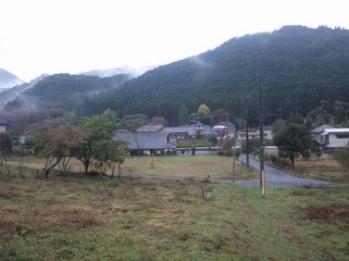 秋山の風景