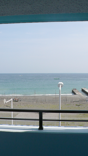 ■バルコニーからも海が良く見えますよ~