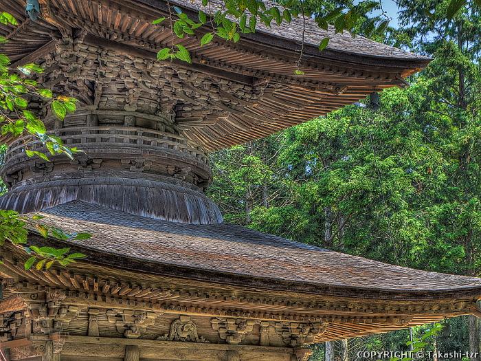東観音寺多宝塔