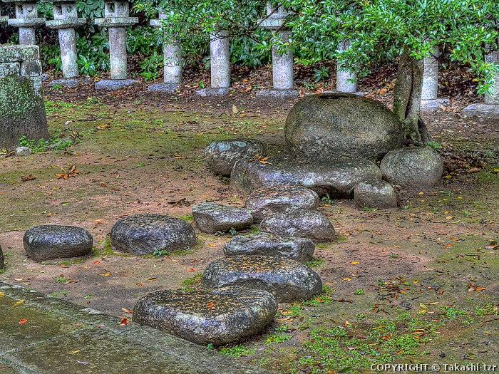 松江藩主松平家墓所