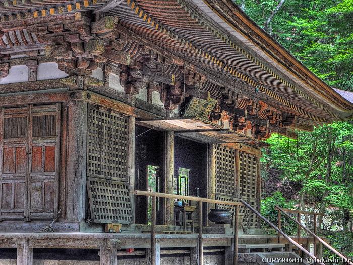 室生寺本堂(灌頂堂)