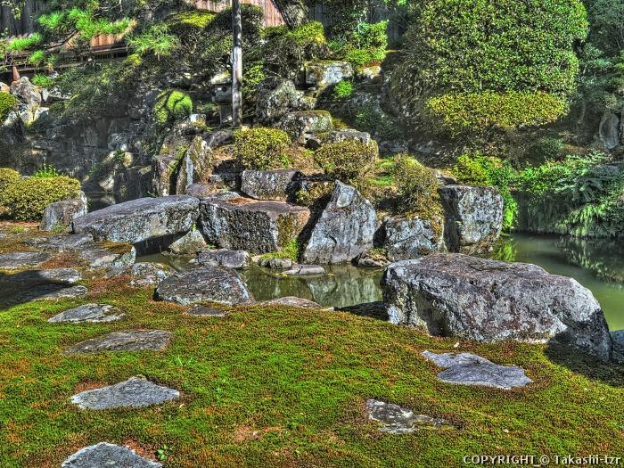滝谷寺庭園
