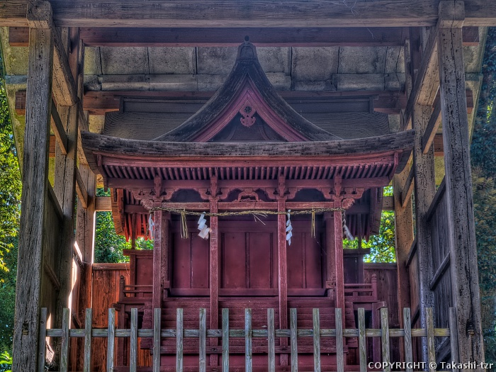 滝谷寺鎮守堂