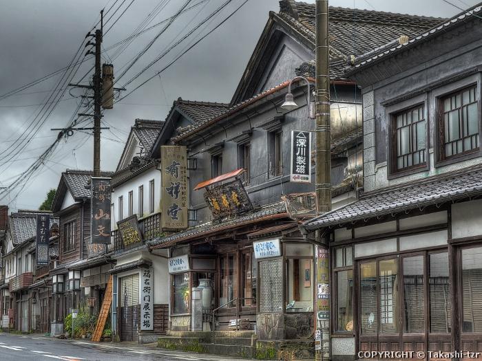 旅するTZRの文化財撮影記 有田町有田内山(佐賀) 【重伝建】