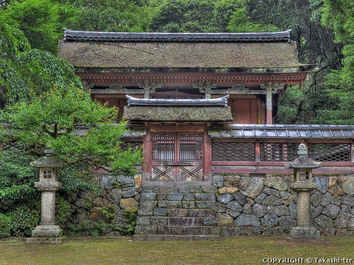 醍醐寺清滝宮本殿