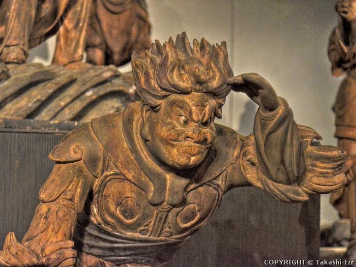 曹源寺伝来十二神将立像子神