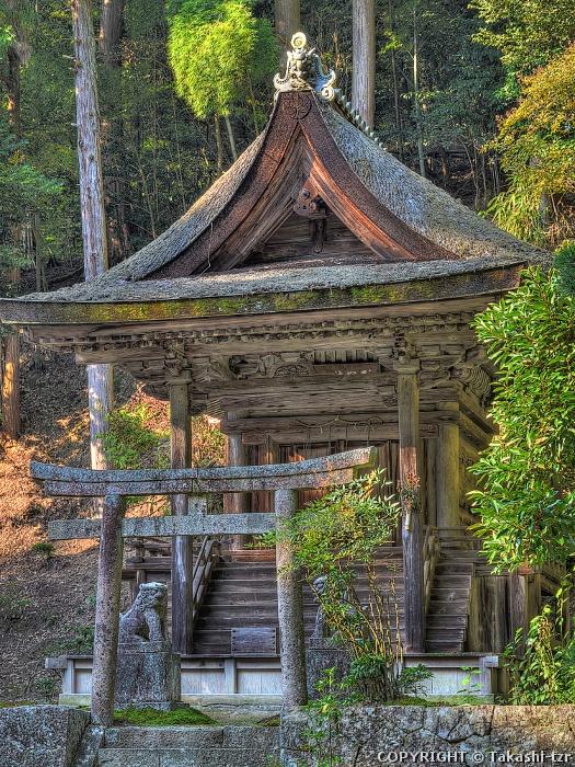 円教寺護法堂(乙天社及び若天社)