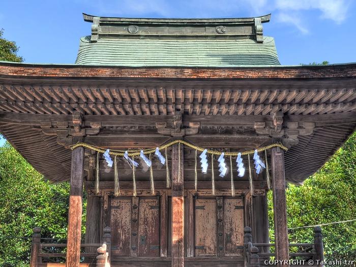 雷電神社末社八幡宮稲荷神社社殿