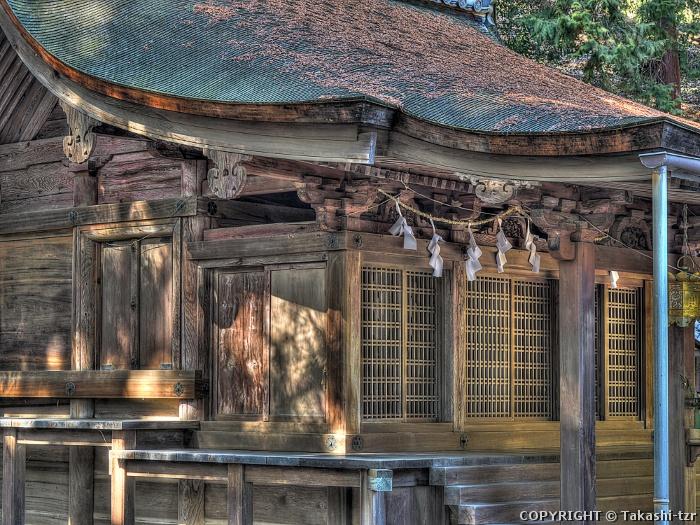 鏡神社本殿
