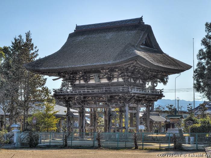苗村神社楼門