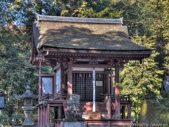 苗村神社東本殿
