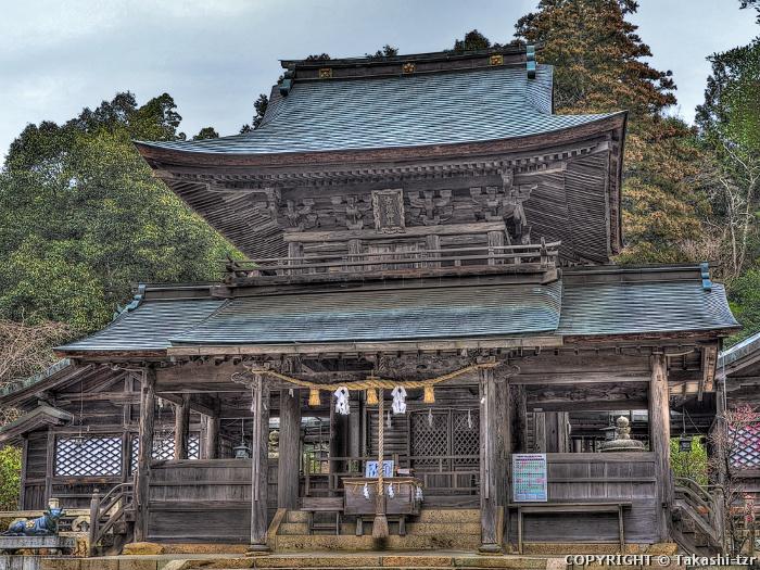 古熊神社拝殿