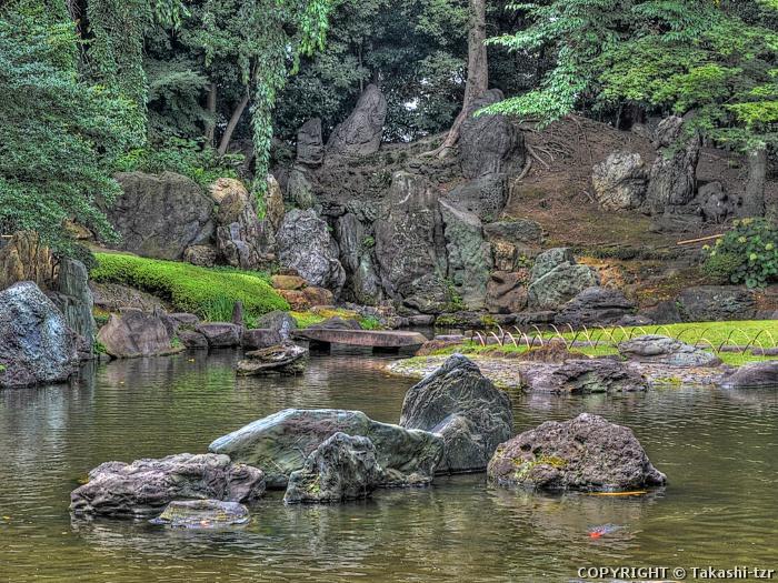 靖国神社神池庭園