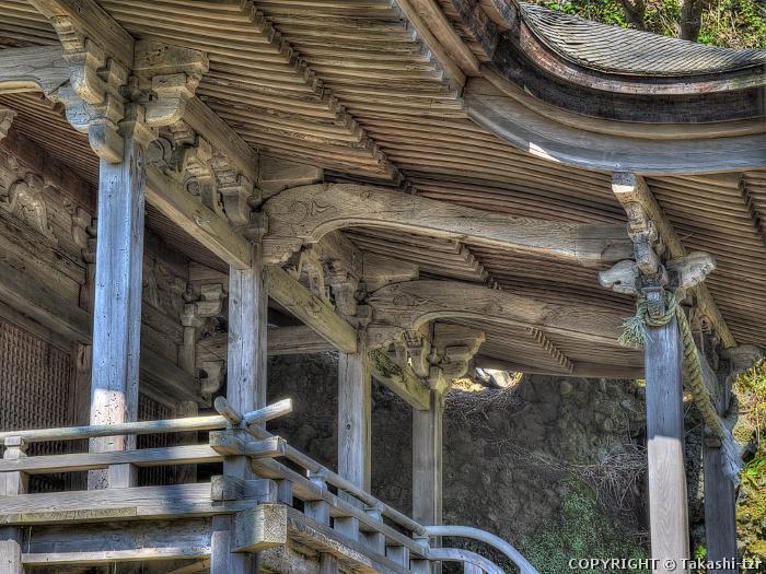 白山神社本殿(新潟)