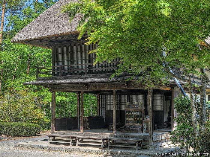 福島市民家園旧筧家宿店