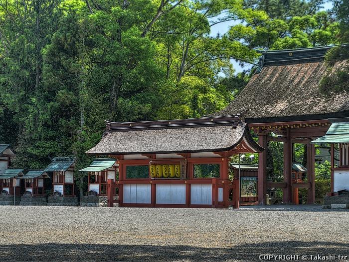 津島神社蕃塀
