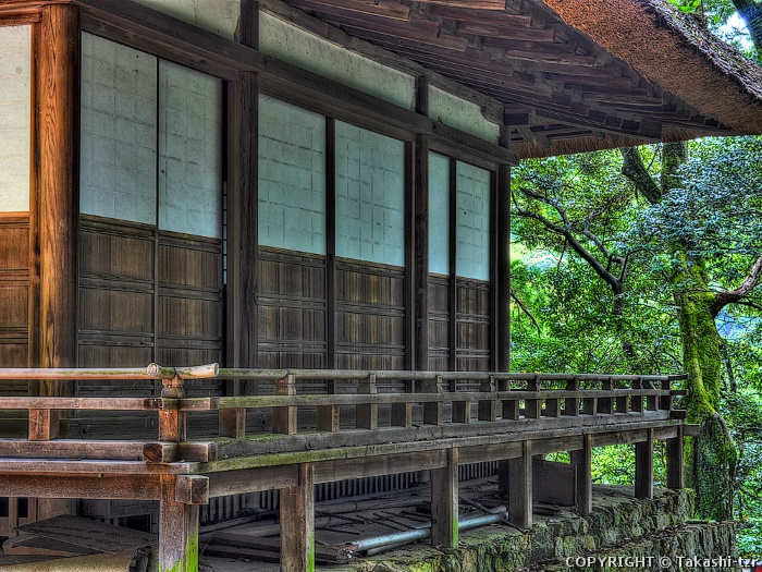 白山神社拝殿(京都)