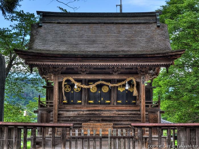 八幡社境内神社高良社本殿(旧八幡社本殿)