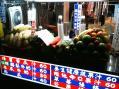 台湾士林夜市フルーツ屋台果物