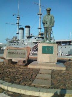 戦艦三笠と東郷元帥