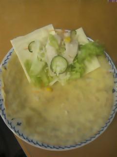 野菜クレープ中身