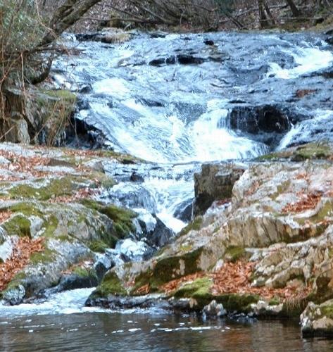 住田 桧山川の滝