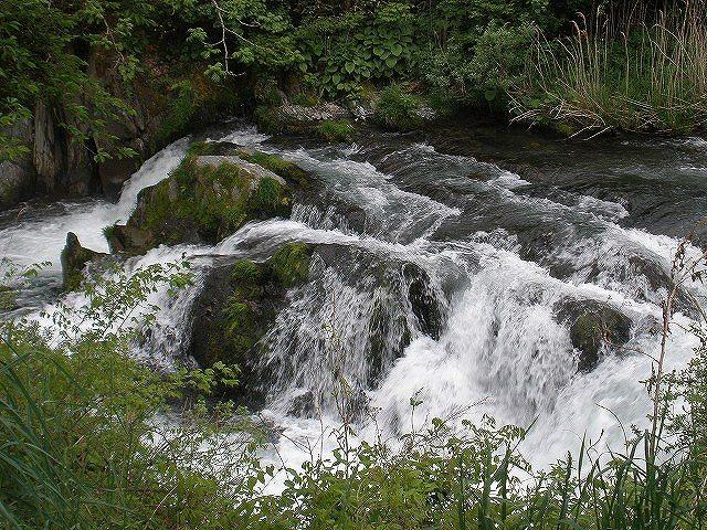 大槌川 金沢の滝