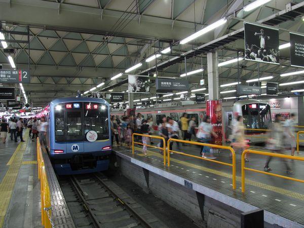 地下化後2ヶ月間イベントスペース「SHIBUYA ekiato(エキアト)」として利用されることが決まった現在の東横線渋谷駅。