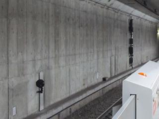 6(現4)番線池袋方に設置された出発用の信号機。