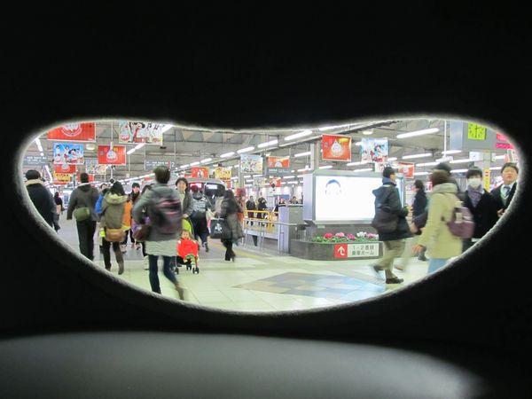 """""""のるるん""""の中から85年の歴史に幕を閉じる東横線渋谷駅を眺める。"""