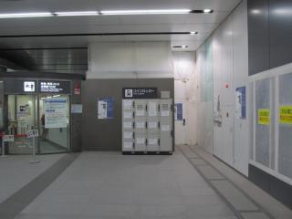 16番出入口の通路は渋谷ヒカリエ2改札口脇に通じる。