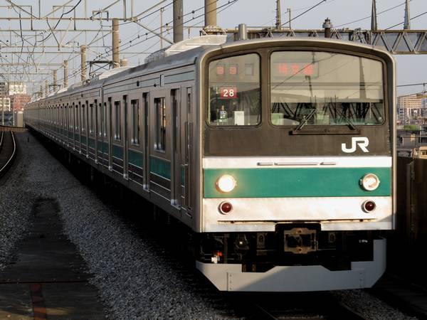 埼京線の205系(6ドア車非連結編成)