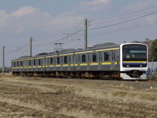 房総各線で使用されている209系2000・2100番台。