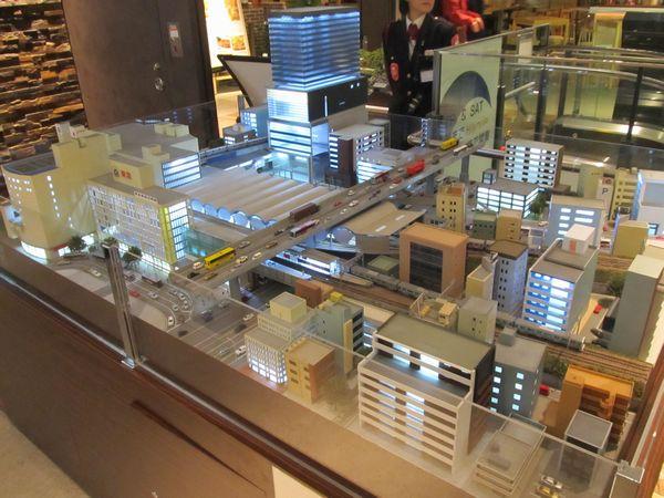 現在の渋谷駅を再現