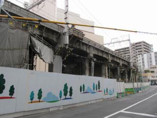 現在線の高架は2009年頃から特に大きな変化はない。