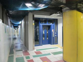 使用開始となった1番線ホームのエレベータ