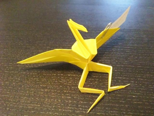 画像 : 【二足歩行】ネット上で ... : 折り紙 はこの折り方 : 折り方