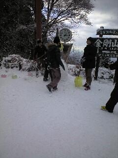 121210雪だるま (5)