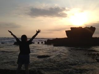 バリの雄大な海に感謝して・・・