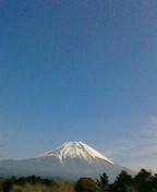朝霧からの富士①