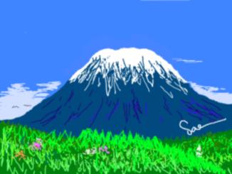 富士山 By Sae
